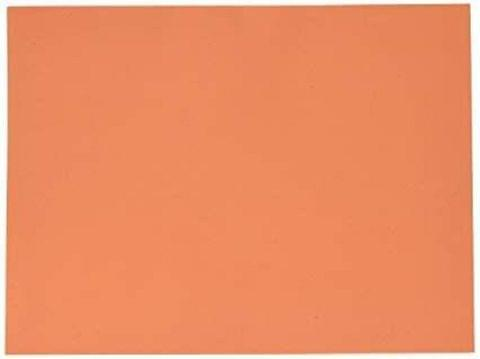 "Foam Sheets Orange in Color 20"" X 20"" Inches in Size 2mm."