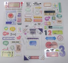 Scrapbooking Stickers-03