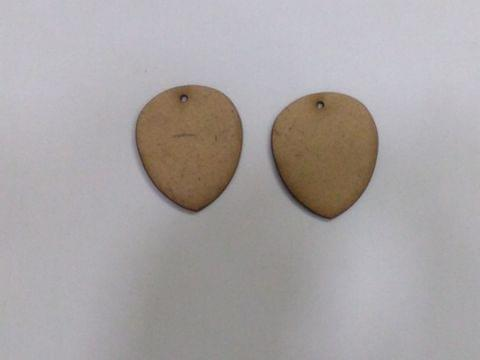 MDF Jewellery  Bases-DROP  EARRING 19
