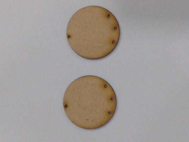 MDF Jewellery  Bases-CIRCLE  EARRING 21