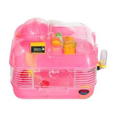 Fun & Play Hamster Cage with Timer