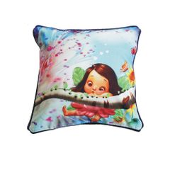 Fairy Face Cushion Cover