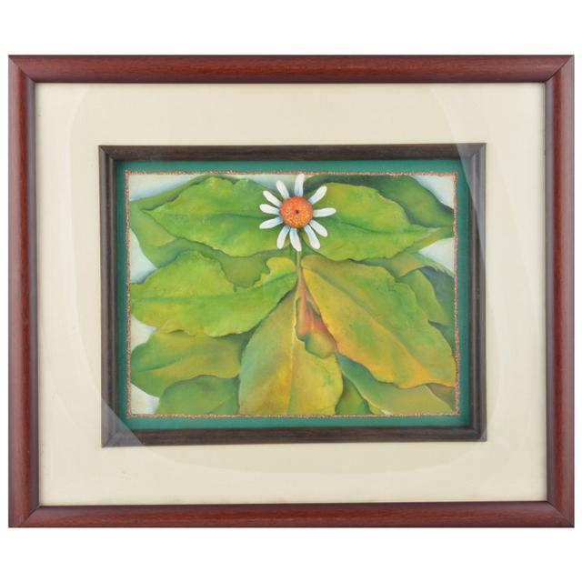 "Mangala Art Leaf Mural M-Seal Wall Decor 17""x14"""