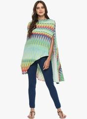 Women's Multicolored Maternity Shrug