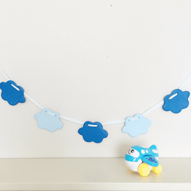 Blue Clouds Bunting