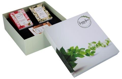 The Daily Soaps Gift Box (Rose, Jasmine & Coconut)