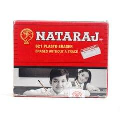 Nataraj Plasto White Erasers (pack of 20)