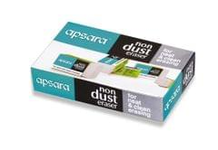 Apsara Non Dust Eraser Regular ( 20 Pcs)