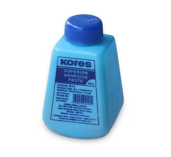 Kores Office Adhesive Paste (700 ml,pack of 2)