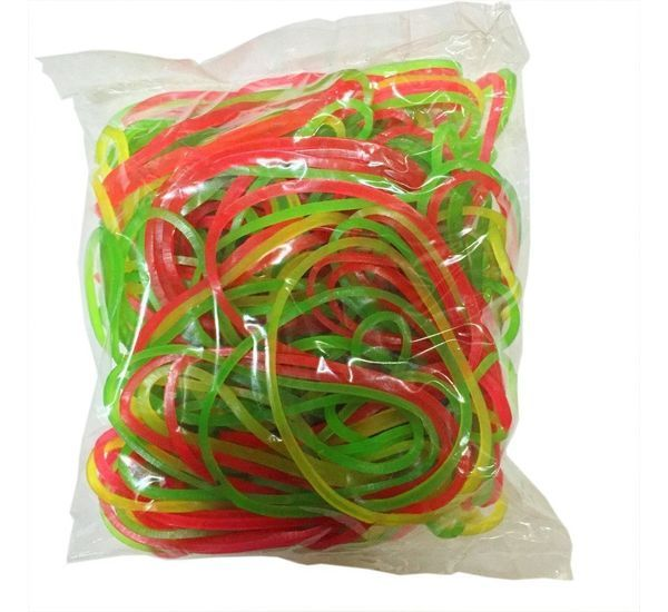 Rubber Bands (500 gms,1/2 inch)