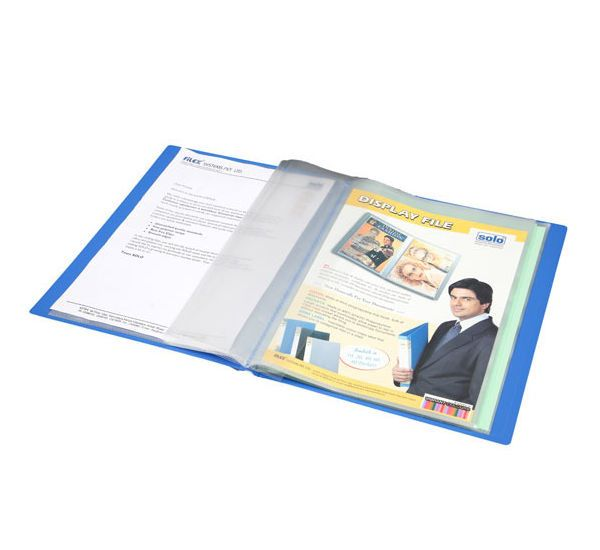 Solo Display File (40 Pockets, A4 Size, Top Loading)