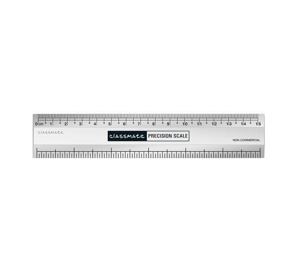 Classmate Short Scale, 15 Cm, Pack Of 10