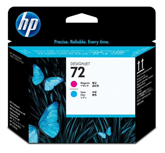 HP 72 Magenta and Cyan DesignJet Printhead (C9383A)