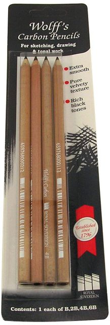 Carbon Pencil Set