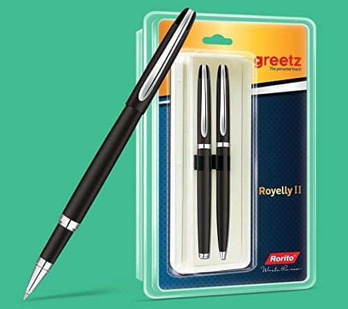 Rorito Royelly II Retractable Pen (Blue)