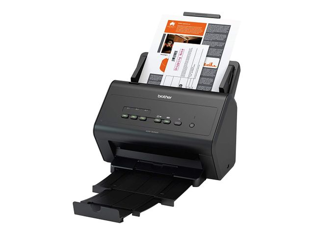 Brother ImageCenter ADS-3000N High-Speed Network Document Scanner,
