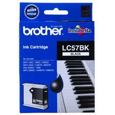 Brother LC57BK Black 500 Pages Ink Cartridge