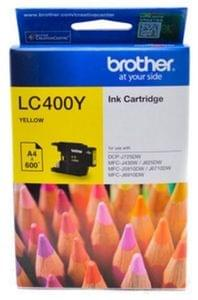 Brother LC400Y Yellow  Ink Cartridge