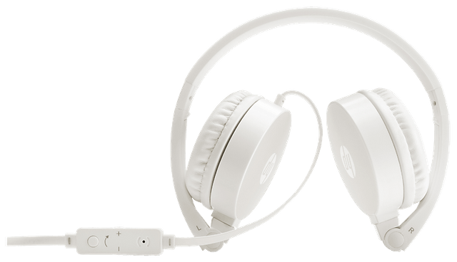 HP H2800 Headset Stereo Headset with Mic (White)