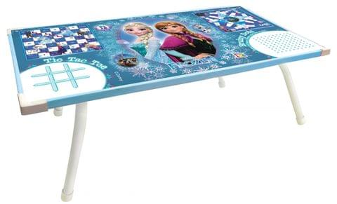 Disney Frozen premium laptop cum study foldable table for kids / Packed in box for easy storage/Prem