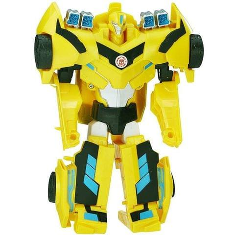 Transformers Robots In Disguise 3-Step Changers, Bumblebee, Multi Color, 2017 Model