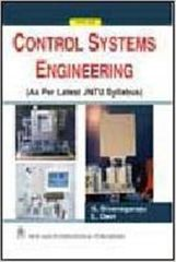 Control Systems Engineering (As per JNTU Syllabus)