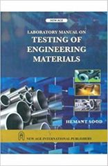 Laboratory Manual on Testing of Engineering Materials