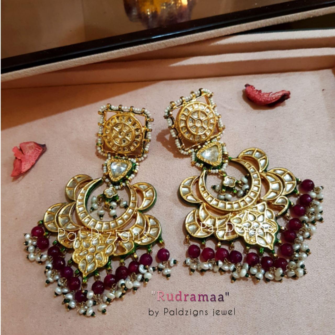 Rudramaa Kundan Earings