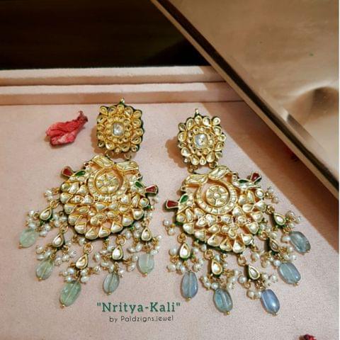 Nritya-Kali Kundan Earings