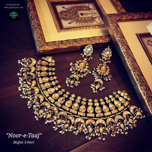 Noor-E-Taaj Kundan Set