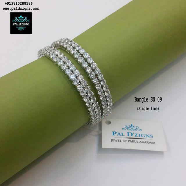 "Diamond Bangles 09 (2-4"")"