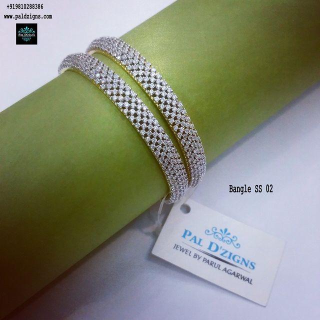 "Diamond Bangles 02 (2-4"")"