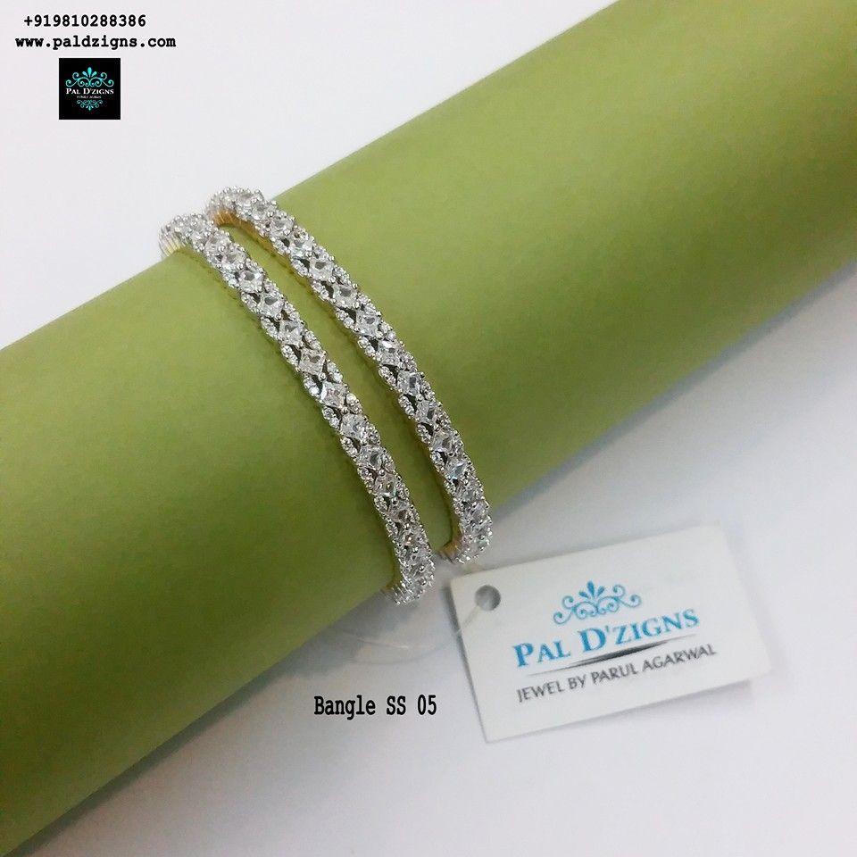"Diamond Bangles 05 (2-4"")"