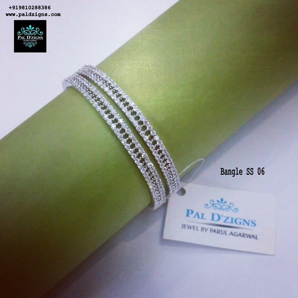 "Diamond Bangles 06 (2-8"")"