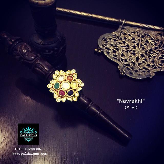 Navrakhi - Navrattan ring