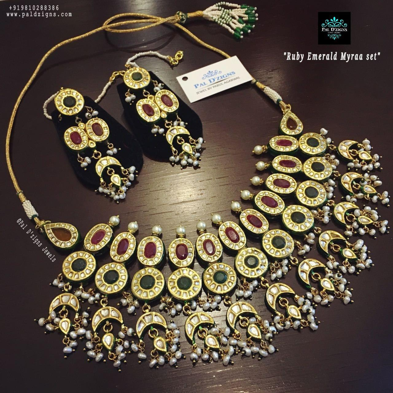 Ruby Emerald Myraa Set