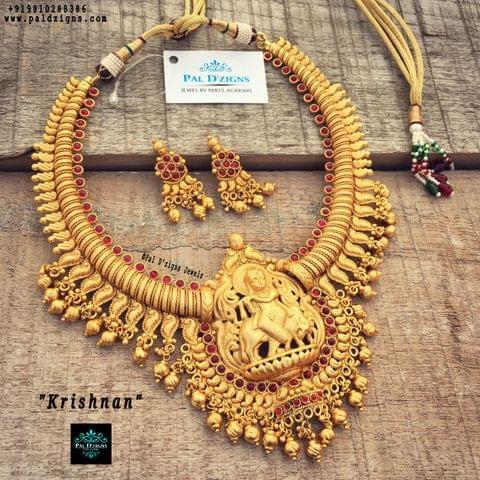 Krishnan Set (Temple Jewellery)