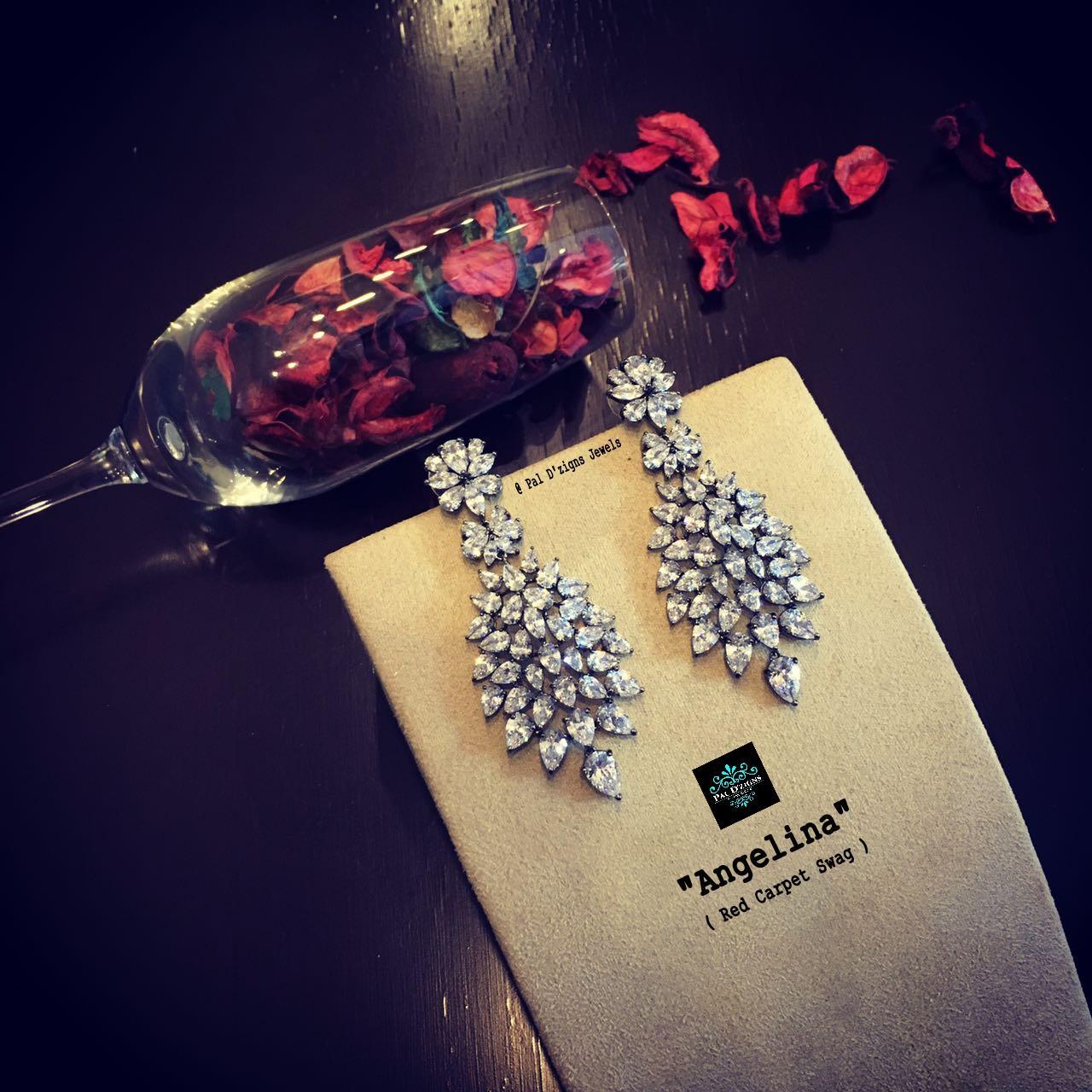 Angelina Diamond Earings