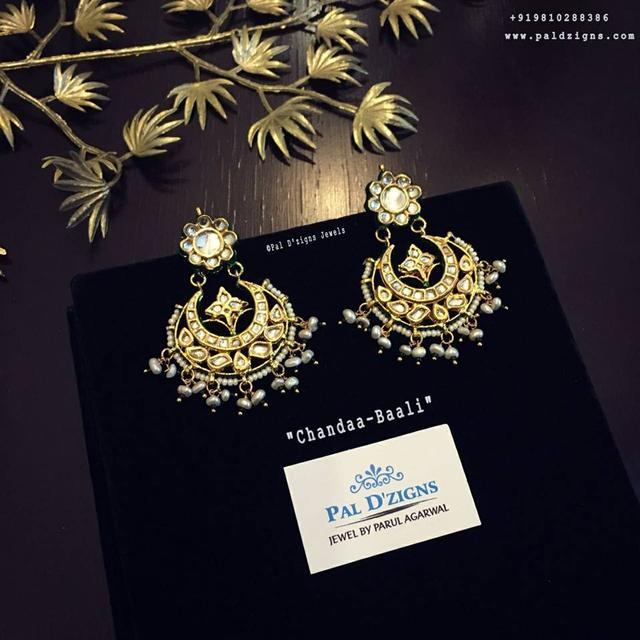 Chandaa-Baali Kundan Earing