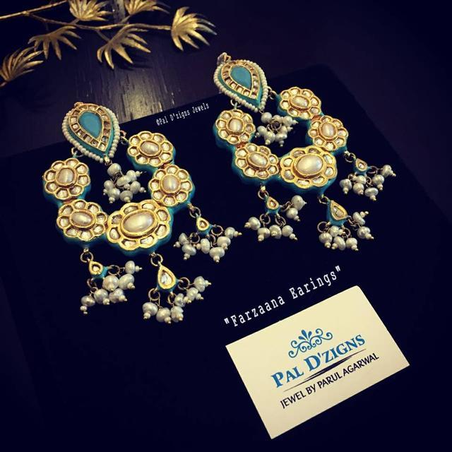 Farzaana Kundan Earings