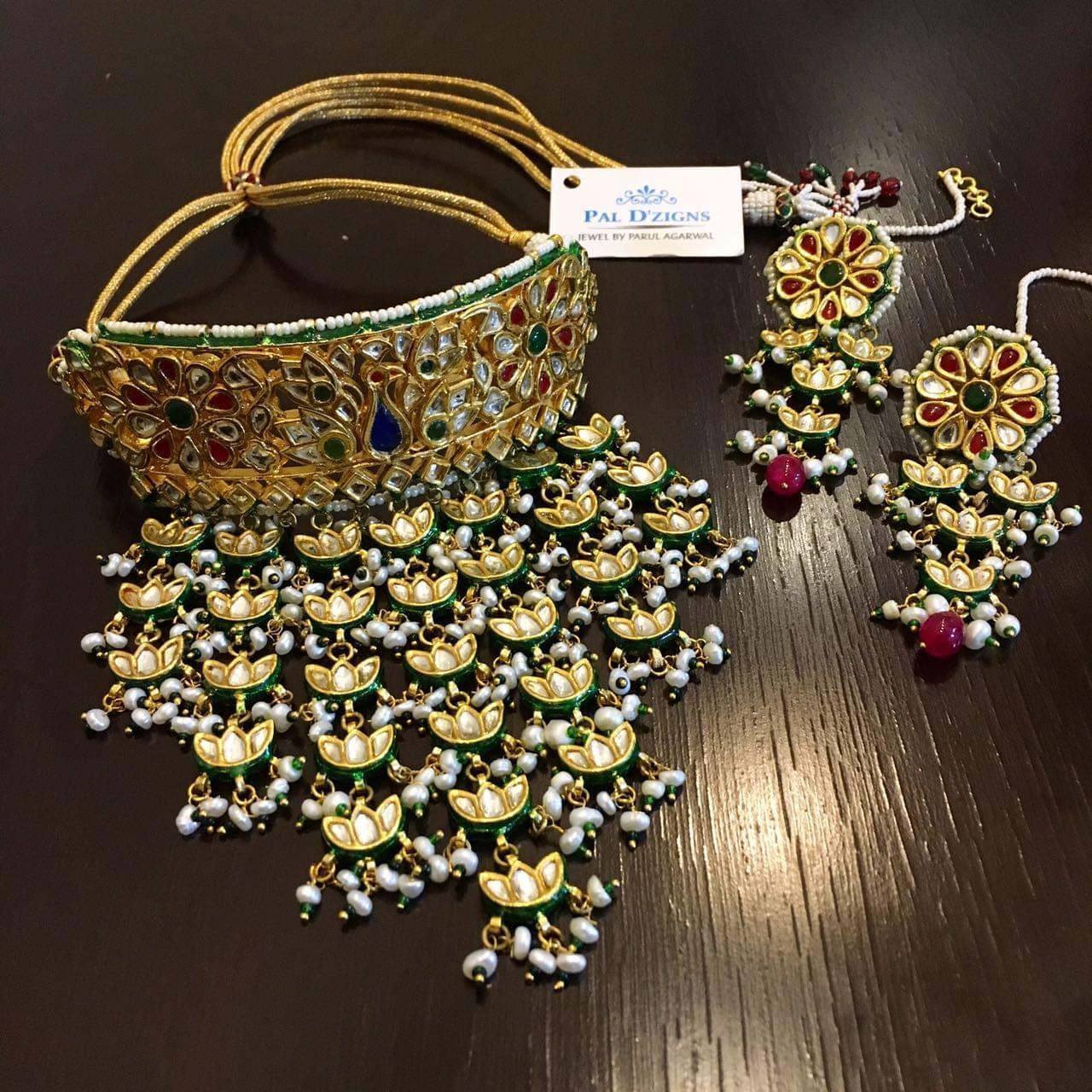Mayur Choker Bridal Set