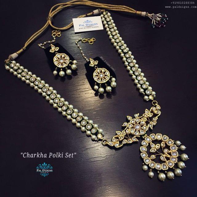 Charkha Polki Set