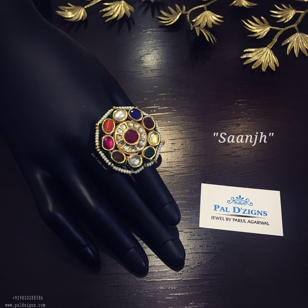 Saanjh Navrattan Ring