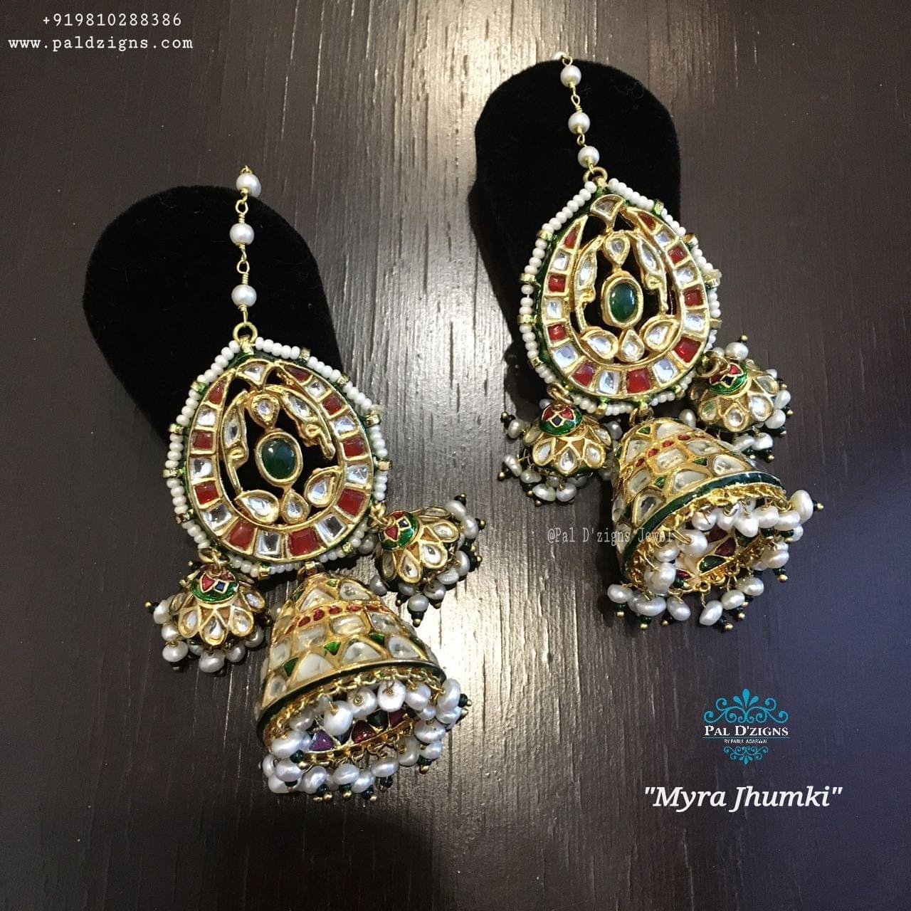 Maayra Kundan Jhumki