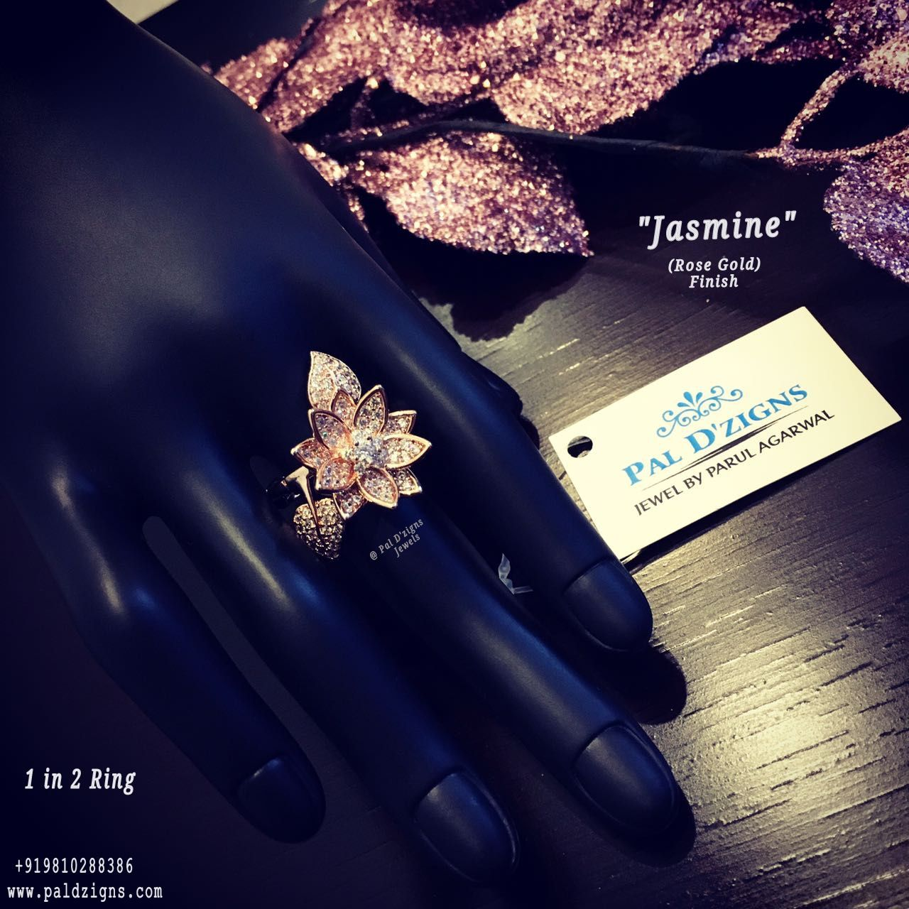 Jasmine Rose Gold Ring