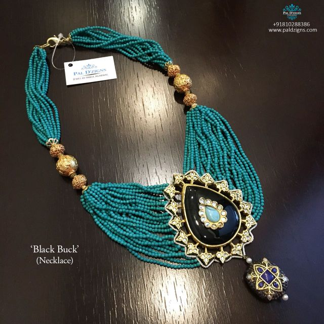 Black Buck Necklace