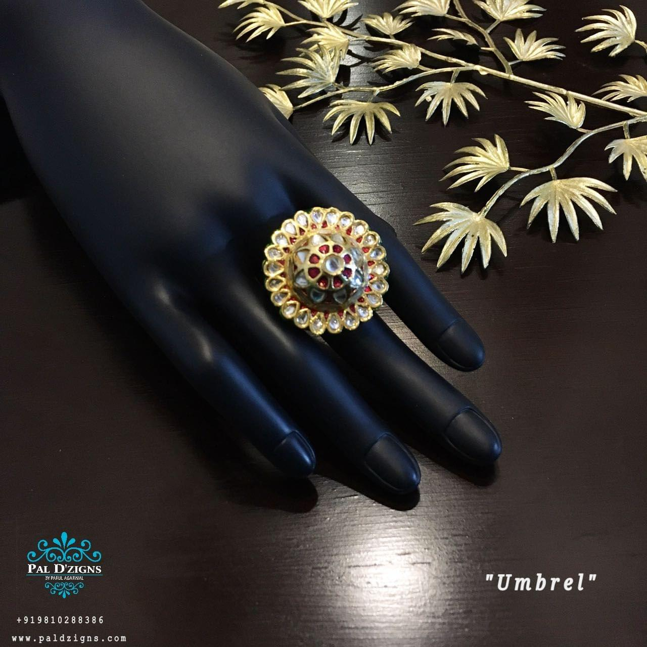 Umbrel Kundan Ring