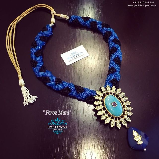 Feroz Mani  kundan necklace
