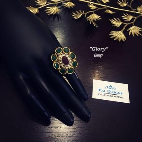 Glory kundan ring