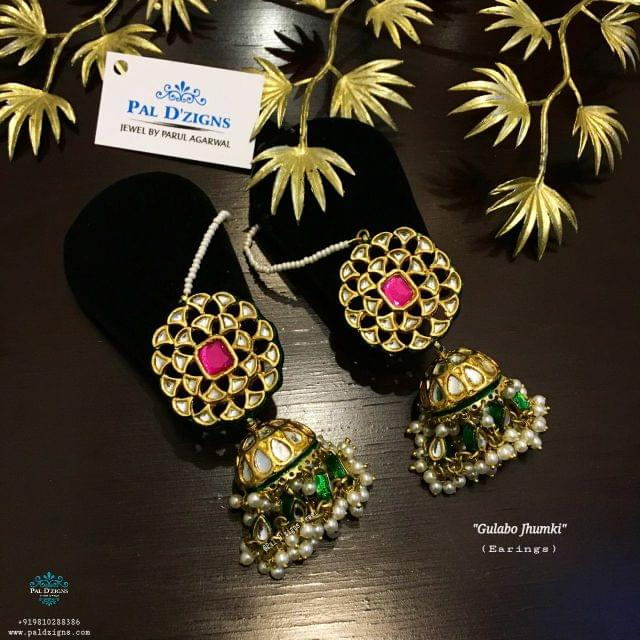 Gulabo Jhumki Earings